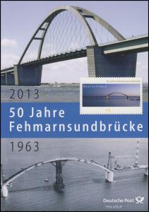3001 Fehmarnsundbrücke: Vogelfluglinie Deutschland nach Dänemark - EB 3/2013