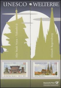 2844-2645 UNESCO-Welterbe Alte Stadt Nara und Altstadt Regensburg - EB 2/2011