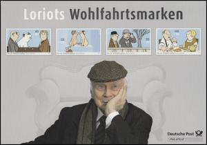 2836-2839 Wohlfahrt Motive von Loriot - EB 1/2011