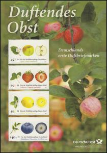 2769-2772 Wohlfahrt Duftendes Obst - EB 1/2010