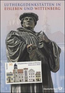 2736 UNESCO Eisleben / Wittenberg: Luther-Gedenkstätten - EB 3/2009