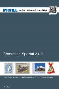 MICHEL Österreich-Spezial-Katalog mit Ganzsachen 2019 in Farbe