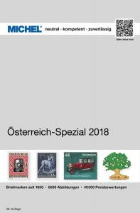 MICHEL Österreich-Spezial-Katalog mit Ganzsachen 2018 in Farbe - GEBRAUCHT