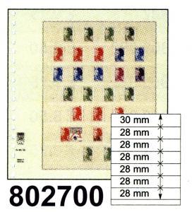 LINDNER-T-Blanko-Blätter 802 700 - 10er-Packung