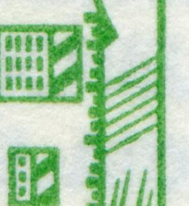 13a MH BuS 1982 [olive 80er], mit PLF: Schrägen verdickt, Feld 7, **