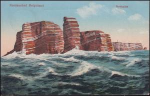 Ansichtskarte Nordseebad Helgoland Nordspitze, 19.8.1928