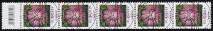 3470 Flockenblume 95 Cent aus 500er-Rolle, 5er-Streifen mit CF, ESSt Berlin