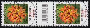 3475 Habichtskraut 270 Cent, Paar mit Nummer, mit CF, ohne Nummer, ESSt Bonn