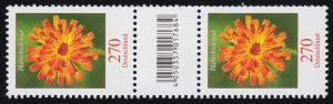 3475 Habichtskraut 270 Cent, Paar mit Nummer, Codierfeld, ohne Nummer **