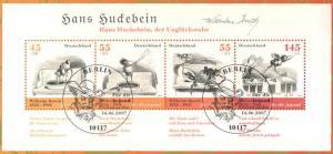 Block 71 Zeichner und Dichter Wilhelm Busch - Block auf Kartonvorlage, ESST