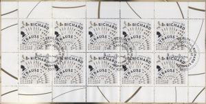 3086 Musiker und Dirigent Richard Strauss - 10er-Bogen auf Kartonvorlage, ESST