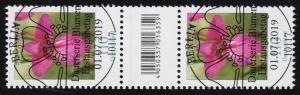 3471 Wild-Gladiole 110 Cent, Paar mit Nummer, mit CF, ohne Nummer, ESSt Berlin