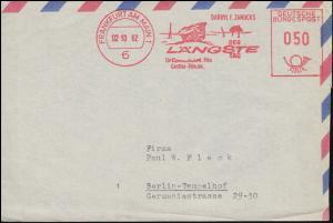 AFS Filmwerbung Der längste Tag, Briefausschnitt FRANKFURT / MAIN 2.10.1962