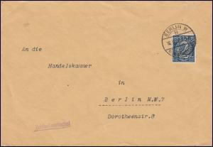 Reichsdienstsache Auswärtiges Amt D 32 EF Brief BERLIN-KURIERSTELLE 18.3.1922