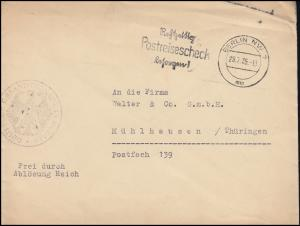 Frei durch Ablösung Gesandtschaft Dublin Auswärtiges Amt Brief BERLIN 29.7.1935