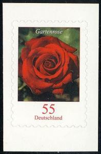 2675II Gartenrose mit Duft SELBSTKLEBEND aus Folienblatt 7, ** postfrisch