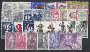1338-1372 Belgien-Jahrgang 1964 komplett, postfrisch
