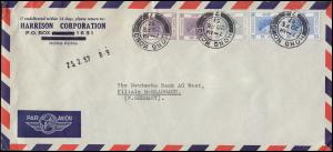 Bf. der Harrison Corporation HONGKONG 20.2.57 an Deutsche Bank Mönchengladbach