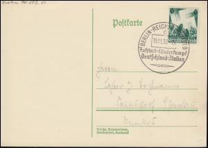 632 Reichsparteitag auf PK SSt BERLIN Fußball Deutschland-Italien 15.11.1938