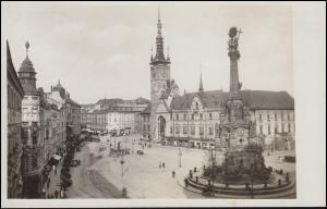 Deutsche Dienstpost Böhmen-Mähren OLMÜTZ 29.8.41 auf passender Ansichtskarte