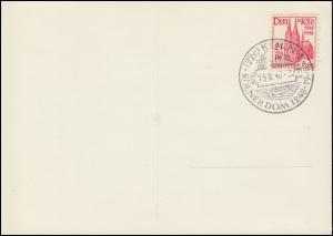 71 Kölner 24 Pf Dom 15.8.1948 Einzelwert ESSt Ansichtskarte Kölner Dom (um 1870)