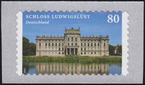 3128 Burgen und Schlösser: Schloss Ludwigslust selbstklebend von der Rolle **
