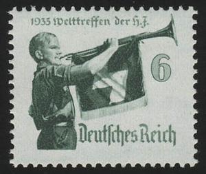 584y Hitler-Jugend 6 Pf **