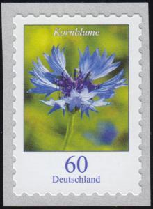 3481 Blume Kornblume, selbstklebend von der Rolle, **