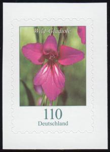 3489 Blume Wild-Gladiole, selbstklebend aus FB 92, **