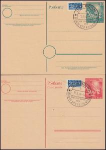 PSo 1-2 Richtfest und Bundestag beide SSt BONN Wahl Bundespräsident 12.9.1949