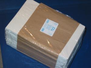 LINDNER 500 Pergamin-Tüten Nr. 712 - 130x180 mm + 20 mm Klappe
