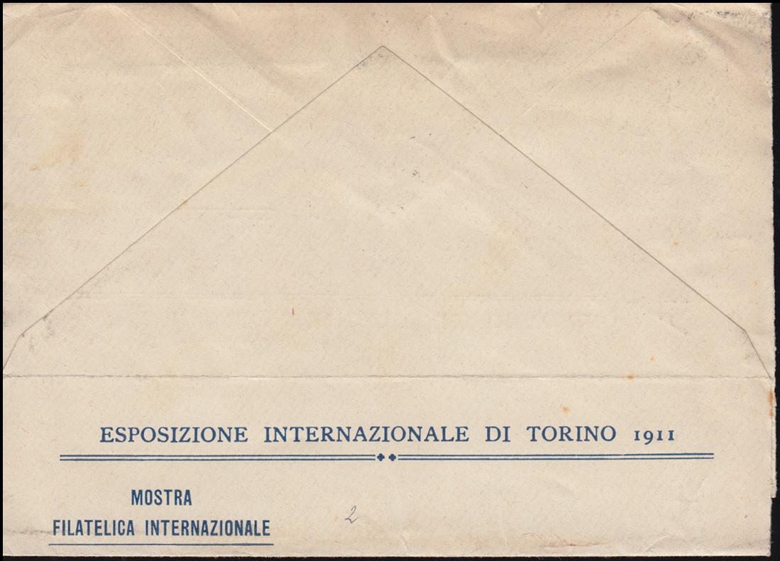 Italien 100 Schwert als MeF Streifband SSt TORINO Briefmarkenaustellung 15.10.11 1