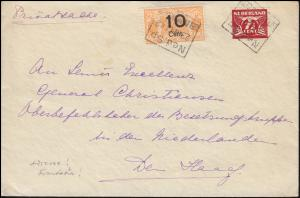 Niederlande Eisenbahn Nederlandsche Spoorwegen Bf. Ned.Sp. 23.5.42 Geldermalsen