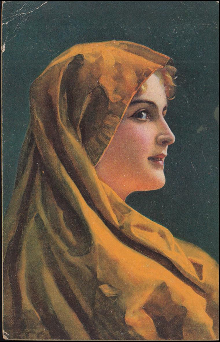 Ansichtskarte Wilhelm Hunger: Marga, UERDINGEN 2.5.1923 nach Osterfeld 0