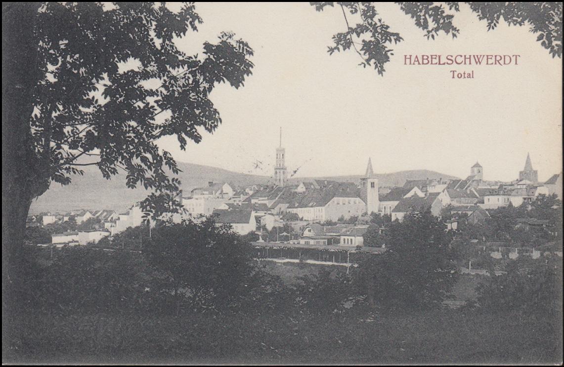 Ansichtskarte Halberstadt - Total, 7.7.1910, gelaufen nach Breyell 0