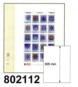 LINDNER-T-Blanko-Blätter 802 112 für DIN A4 - 10er-Packung
