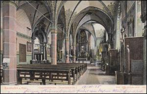 Ansichtskarte Bornhofen / Rhein Innenansicht der Gnadenkirche, BOPPARD 18.9.1905