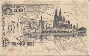 AK Studentenverbindung SKStV Suevia Köln am Rhein, CÖLN-RIEHL 7.12.1920