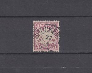 Bayern 48 Wappen 5 Pfennig - Stempel 19a Einkreisstempel BRÜCKENAU