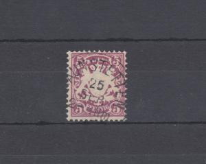 Bayern 48 Wappen 5 Pfennig - Stempel 21a Einkreisstempel HAUNSTETTEN 25.9.