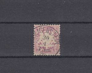 Bayern 48 Wappen 5 Pfennig - Stempel 19b Einkreisstempel HEILIGENSTEIN 30.4.86