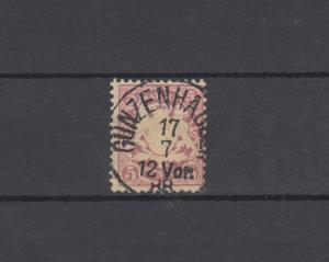 Bayern 48 Wappen 5 Pfennig - Stempel 25b Einkreisstempel GUNZENHAUSEN 17.7.88