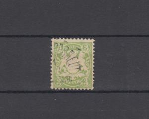 Bayern 47 Wappen 3 Pfennig - Stempel 21b KLEINPHILIPPSREUTH