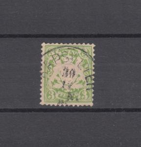 Bayern 47 Wappen 3 Pfennig - Stempel 22a Einkreisstempel KAPSWEYER 30.11.85
