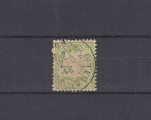 Bayern 47 Wappen 3 Pfennig - Stempel 21a Einkreisstempel ALTFRAUENHOFEN 31.12.86