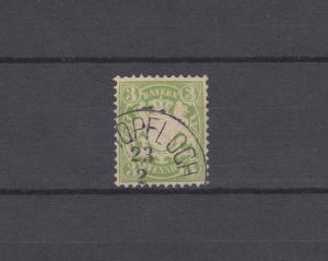 Bayern 47 Wappen 3 Pfennig - Stempel 24b Einkreisstempel SCHOPFLOCH 23.2.