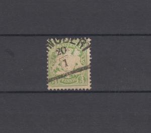 Bayern 37 Wappen 3 Pfennig - Stempel 12a Halbkreisstempel ST. INGBERT 20.1.