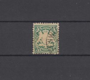 Bayern 38 Wappen 5 Pfennig - Stempel 12a Halbkreisstempel BUTTERWIESEN