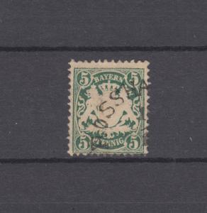 Bayern 38a Wappen 5 Pfennig - Stempel 12a ROSSHAUPTEN