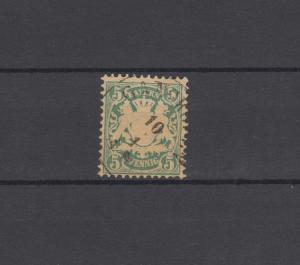 Bayern 38a Wappen 5 Pfennig - Stempel Einkreisstempel GANGKOFEN 10.1.